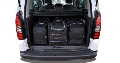 zestaw torb samochodowych